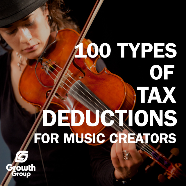 Music Tax Deductions