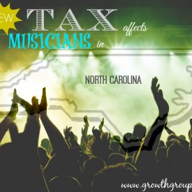 Musician taxes affected by new NC tax