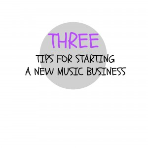 how to start a music business successfully
