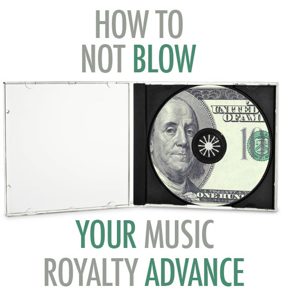 Managing Advance Royalties for Music