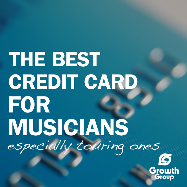 Best credit card for musicians