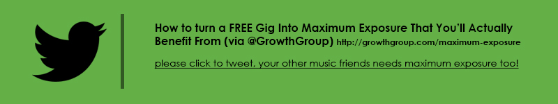 How to get maximum exposure from a free gig