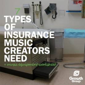 Insurance for music businesses