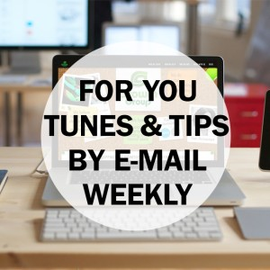 Tunes & Tips Newsletter Sign-up Growth Group