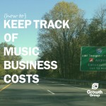 music business expenses keeping track