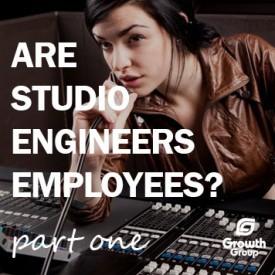 recording studio engineers employees or contactors