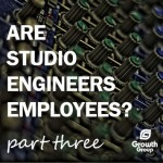 recording studio engineers employees or contactors